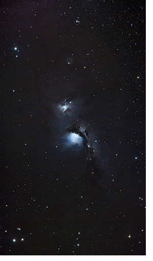 The M78 nebula in Orion