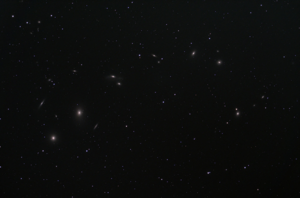 Markarian's Chain in Virgo Cluster