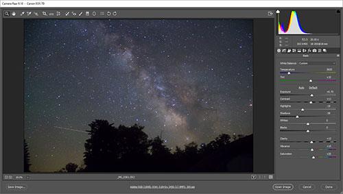 Adobe Photoshop Processing