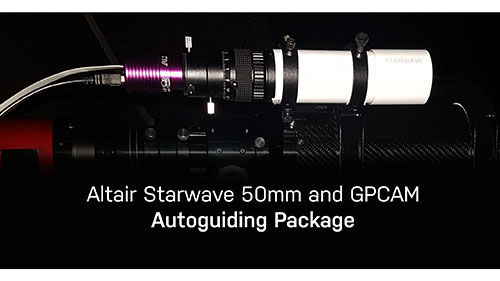 Autoguiding package for astrophotgraphy