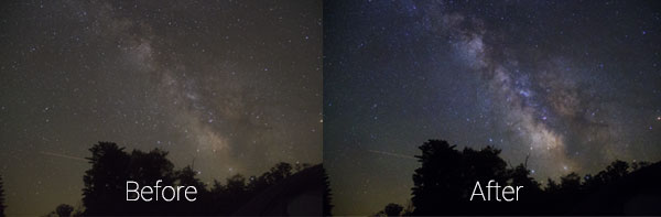 Milky Way Processing in Photoshop