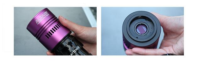 CMOS sensor camera