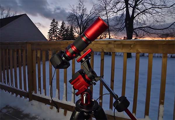 portable astrophotography setup