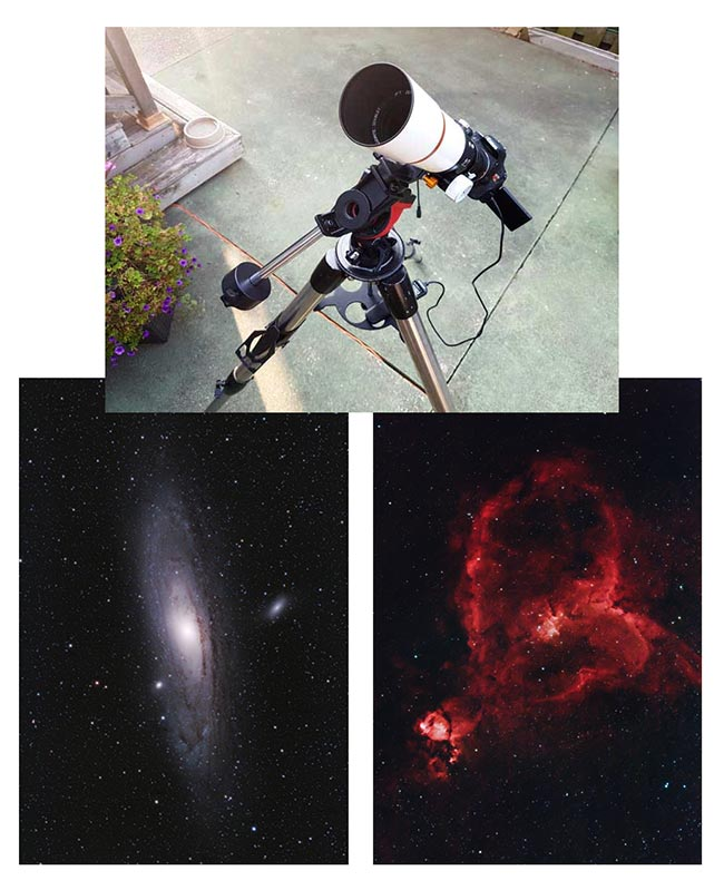 Telescope for iOptron SkyGuider Pro Mount