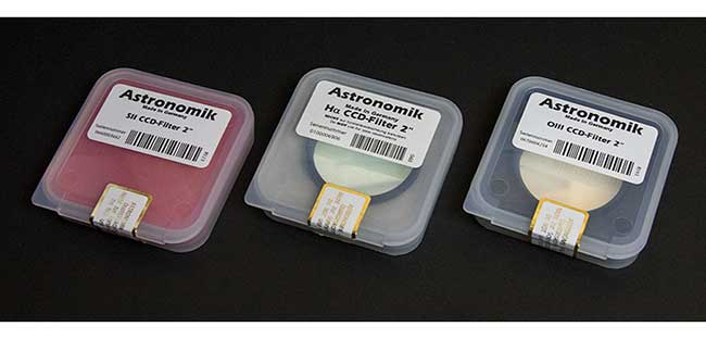 Astronomik 12nm Ha SII and OII Filters