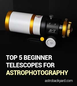 The Best Astrophotography Telescope for a Beginner | My Top 5