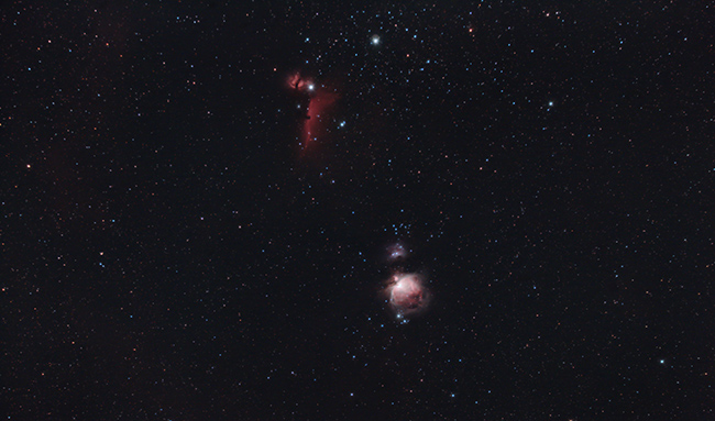 Horsehead Nebula and Orion