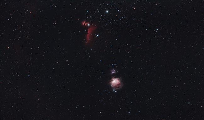 Horsehead Nebula and Orion