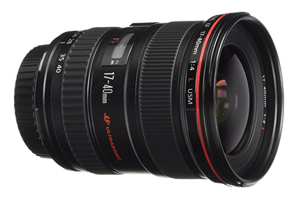 Canon EF 17-40mm F/4L Lens