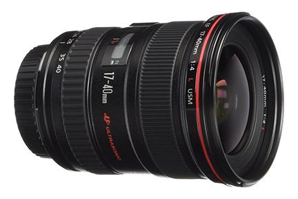 Canon EF 17-40mm F/4L Lens