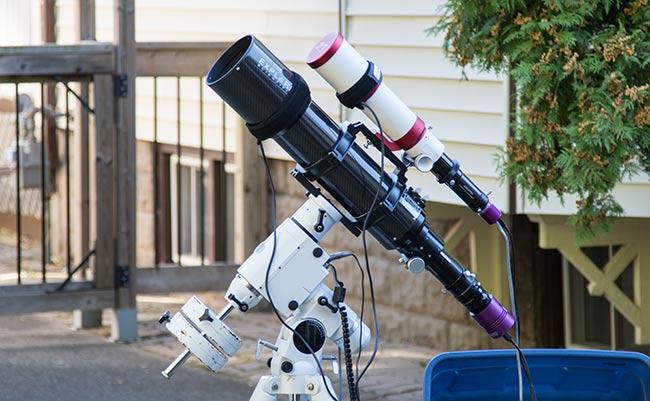 Deep sky astrophotography telescope