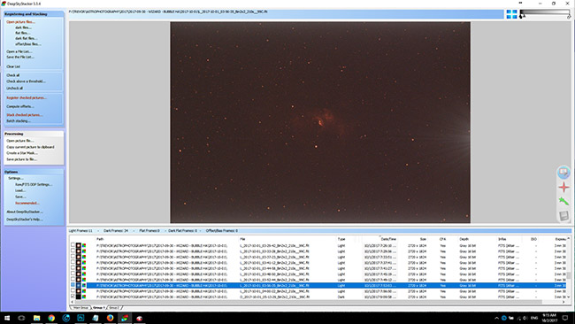 Single H-ALpha Image Frame in DSS