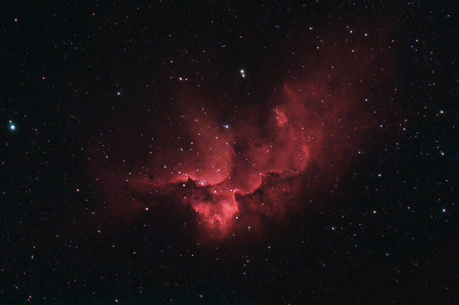 Wizard Nebula in HaRGB