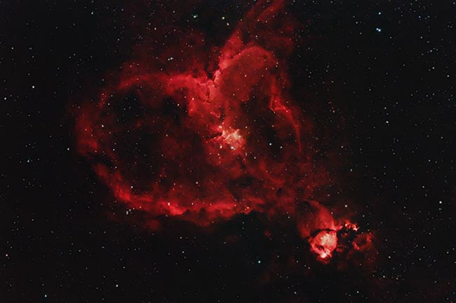 IC 1805: The Heart Nebula | DSLR Astrophotography (Canon ...