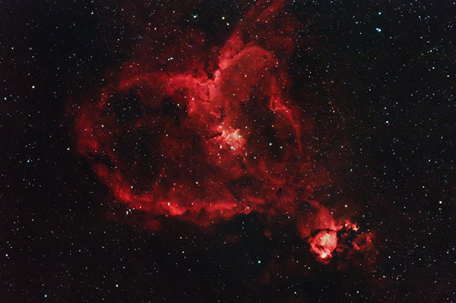 IC 1805 - The Heart Nebula
