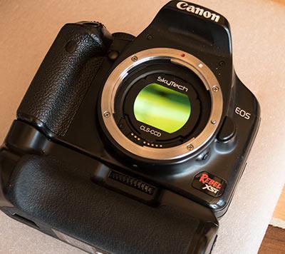 Canon DSLR clip filter