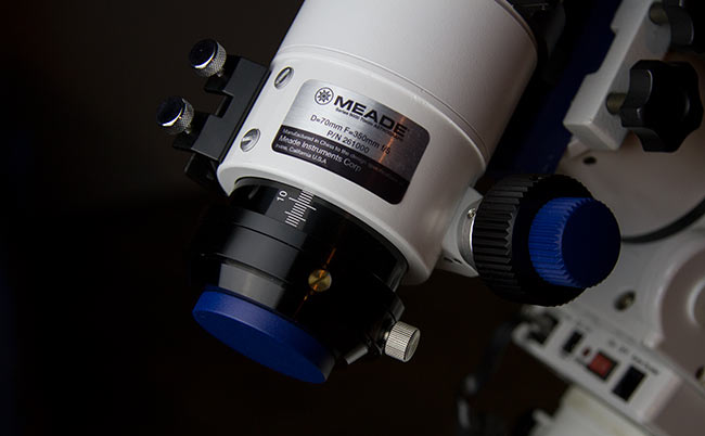 connecting a DSLR to the telescope