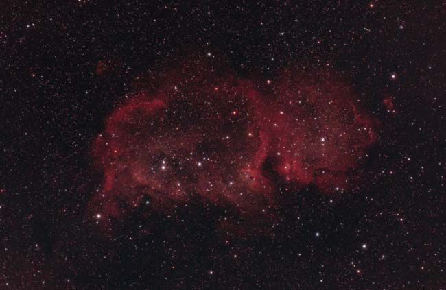 Soul Nebula in True Color RGB