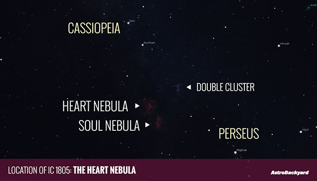 where is the Heart Nebula
