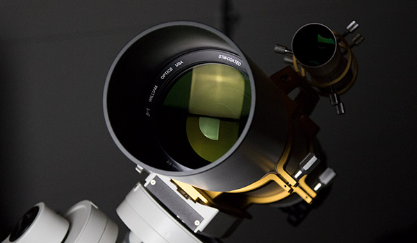 FPL-53 glass used in a refractor telescope