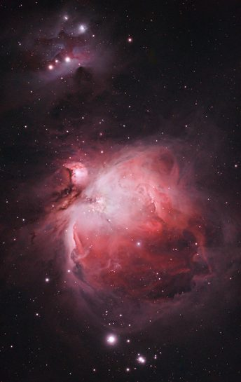 Orion Nebula using a DSLR camera