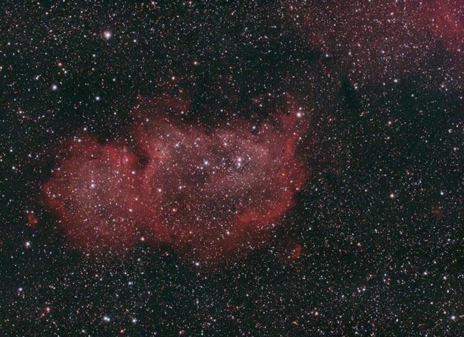 Astrophotography Image Processing Challenge   Soul Nebula