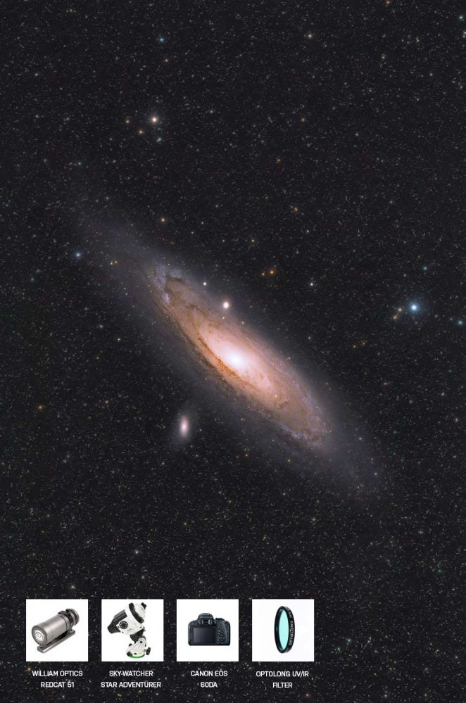 Andromeda Galaxy amateur photo