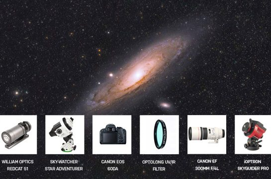 astrophotography equipment list