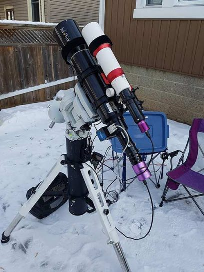 deep sky imaging telescope