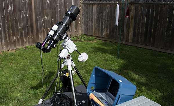Deep Sky Imaging Setup