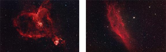 Nebulae using a DSLR