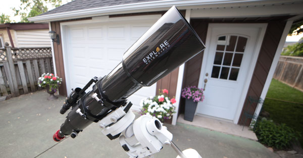 backyard telescope