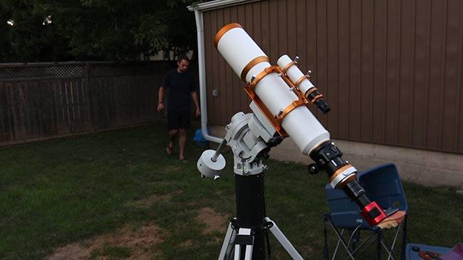 deep sky astrophotography walkthrough