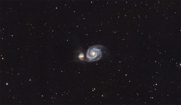 Whirlpool Galaxy by Vittorio Signorelli