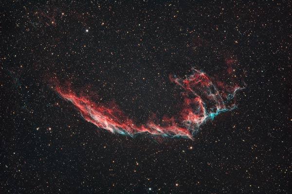 The Eastern Veil Nebula