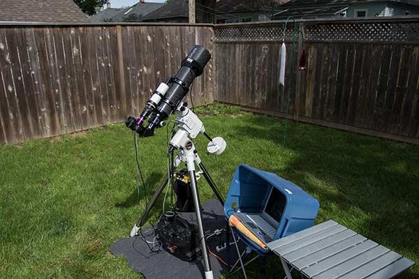 deep sky astrophotography setup