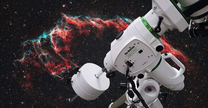 telescope mount for astrophotography