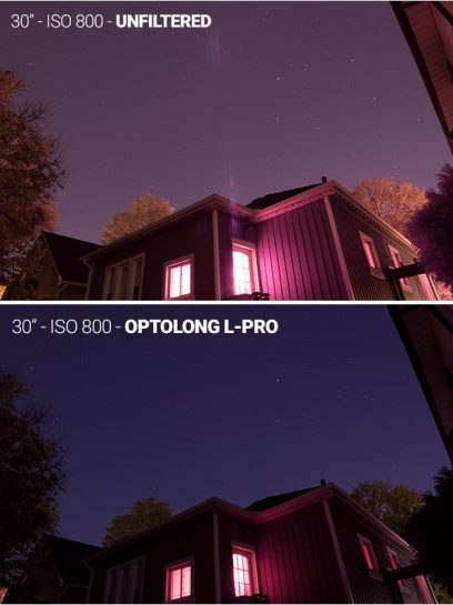 Optolong L-Pro filter test