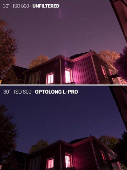 Optolong L-Pro filter test