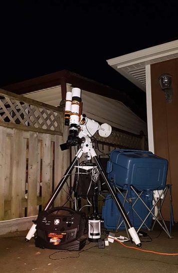 tracking telescope mount