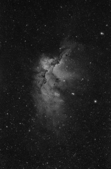 Wizard Nebula in Ha
