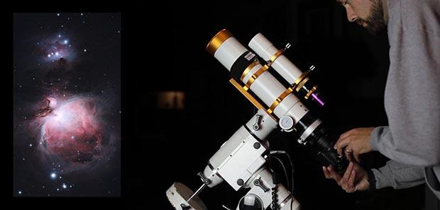 camera and telescope