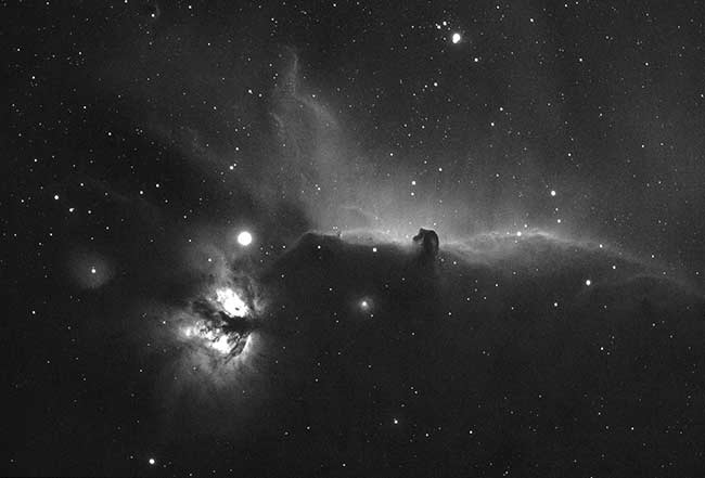 Horsehead Nebula in Ha