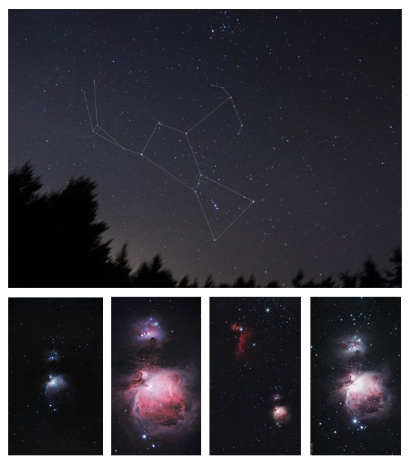 Orion astrophotography
