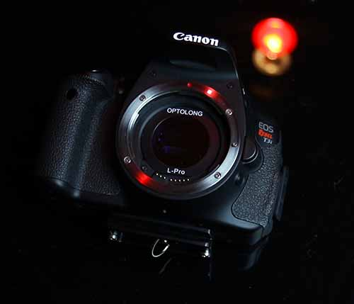 Canon EOS Rebel T3i DSLR