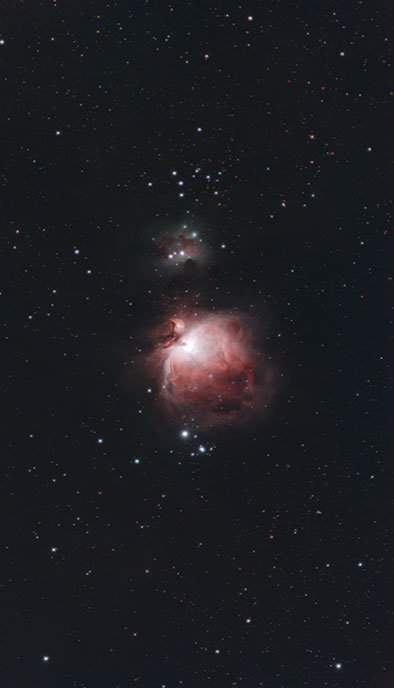 Orion Nebula 300mm Camera Lens