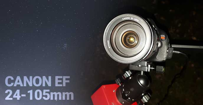 Canon 24-105 lens for astrophotography
