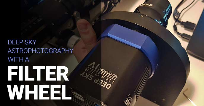 filter wheel for astrophotography