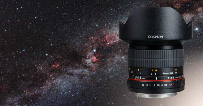 Rokinon 14mm F/2.8 for astrophotography