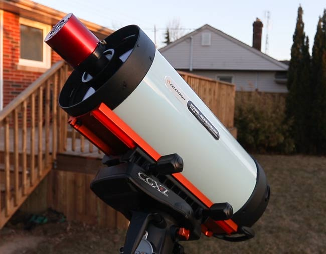 8-inch astrograph